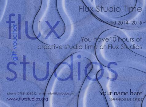 Flux Studio Time Voucher