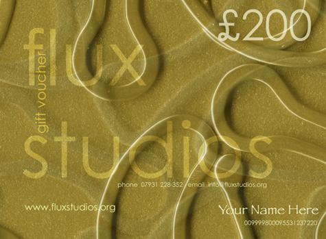 Flux Studios Vouchers