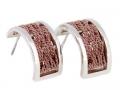 Julia Toledo brown earrings