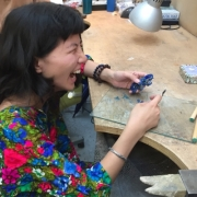Jewellery making in action 13