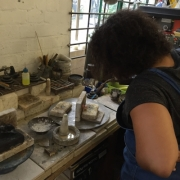 Jewellery making in action 15