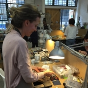 Jewellery making in action 16