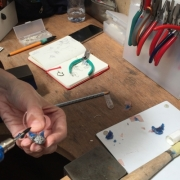 Jewellery making in action 21