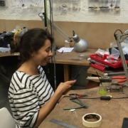 Jewellery making in action 22