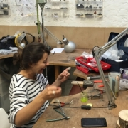 Jewellery making in action 23