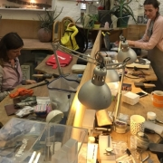 Jewellery making in action 24