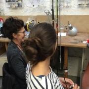 Jewellery making in action 4