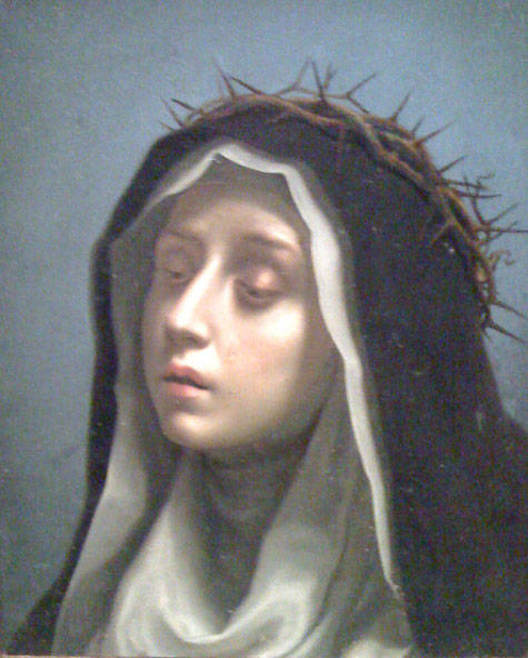 Dulwich Picture Gallery, Saint Catherine of Siena, by Carlo Dolci