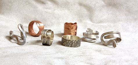 Nick really pushed the techniques to produce all these rings!
