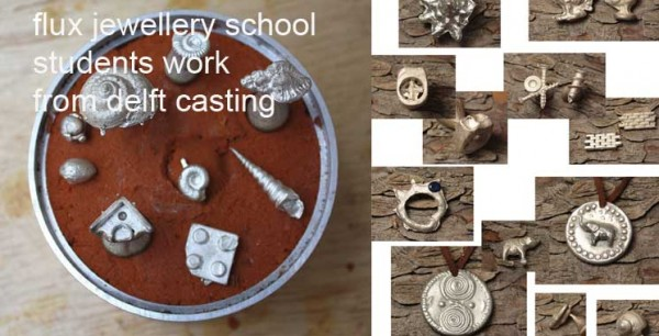 casting techniques for jewellery at Flux Studios