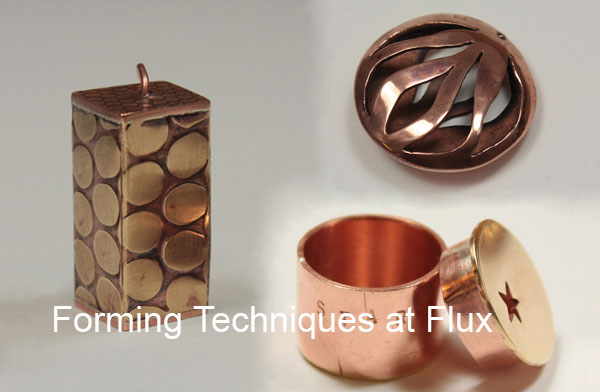 Hollow Forms for Jewellery at Flux