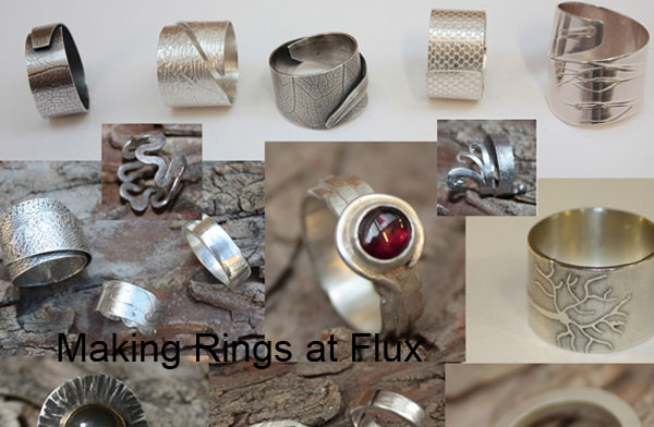 Design and Make your own Silver Jewellery at Flux Studios