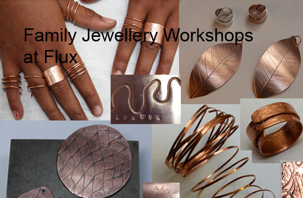 Jewellery workshops for all the family at Flux Studios