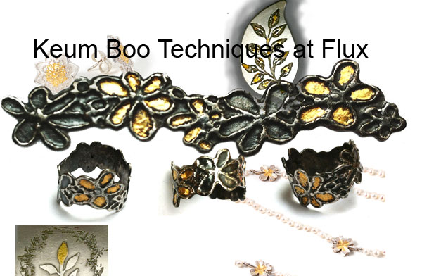Learn Keum Boo and other specialist jewellery techniques at Flux Studios