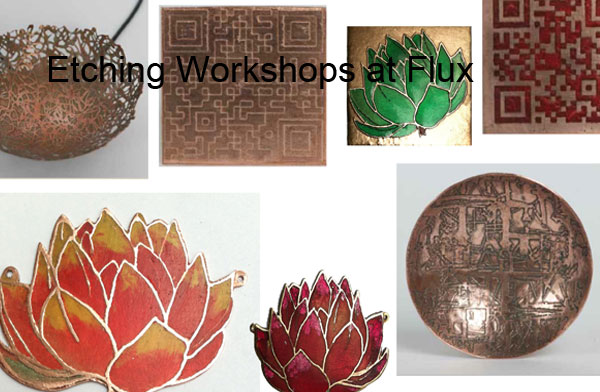 Specialist jewellery techniques for makers at Flux Studios