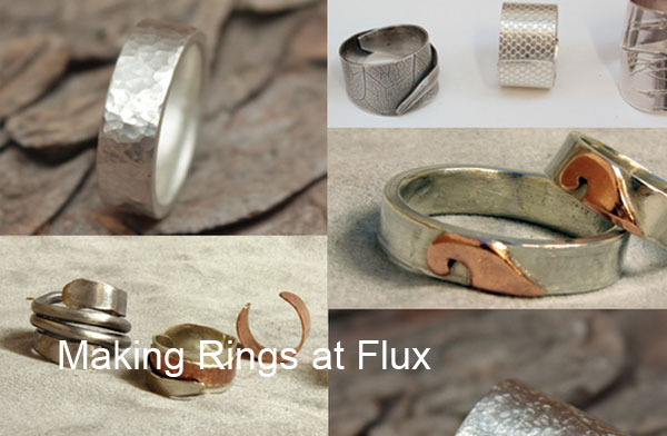 Flux Jewellery School courses cater for all levels and allow students to develop their skills into the set projects.