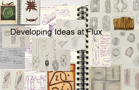 jewellery courses in developing design skills at Flux Jewellery School