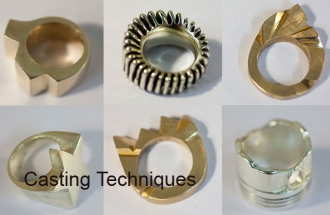 Jewellery course in London - advanced casting techniques at Flux Studios