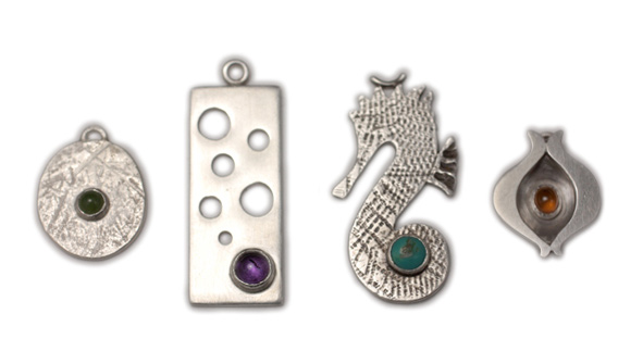 designa nd make your own silver pendants and charms