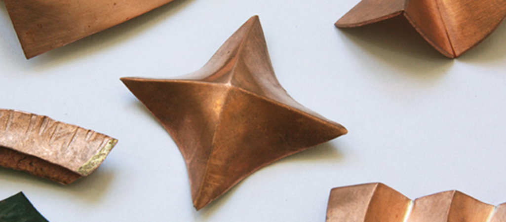 Jewellery courses on Folding, Forming techniques for jewellery