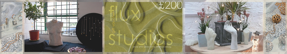 Flux gift vouchers can be used to buy at our jewellery exhibitions as well as to to join a course