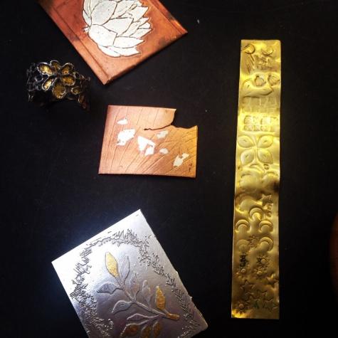 Personal jewellery project at Flux Jewellery school