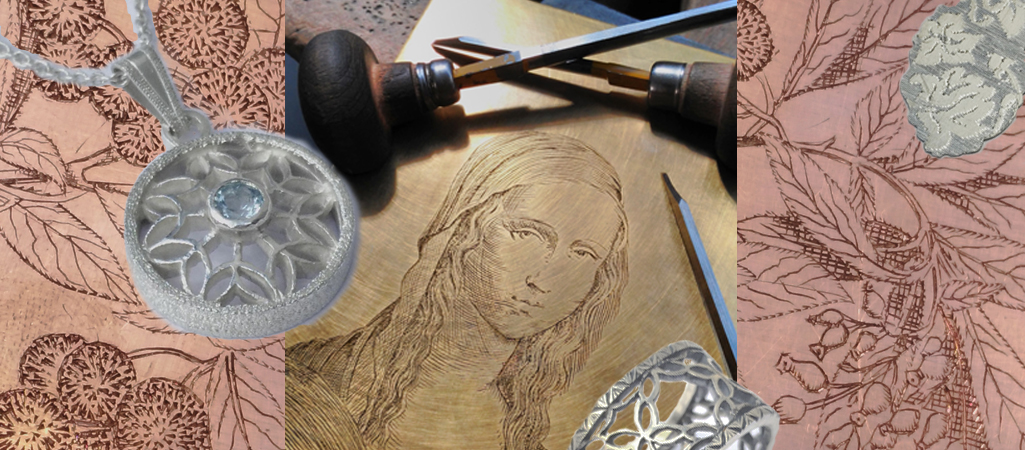 examples of engraving techniques fo jewellery and silversmiths