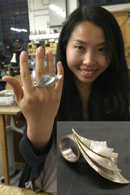 Dragon Wing Ring by Beilin