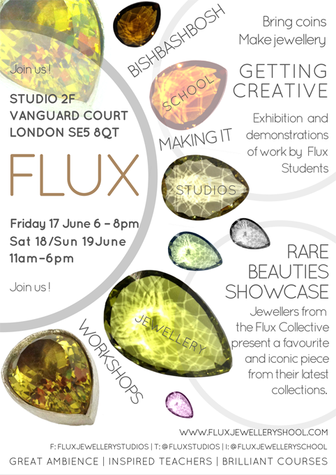 Student events we are running for Camberwell Arts Festival 2016, Flux Open Studios