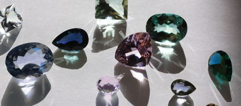Amethyst, Sapphire, Aquamarine, Topaz, Praziolite, Tanzanite, Iolite