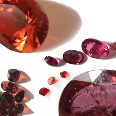 Rubies, Rubelite, Garnet, Spinel, Corundum