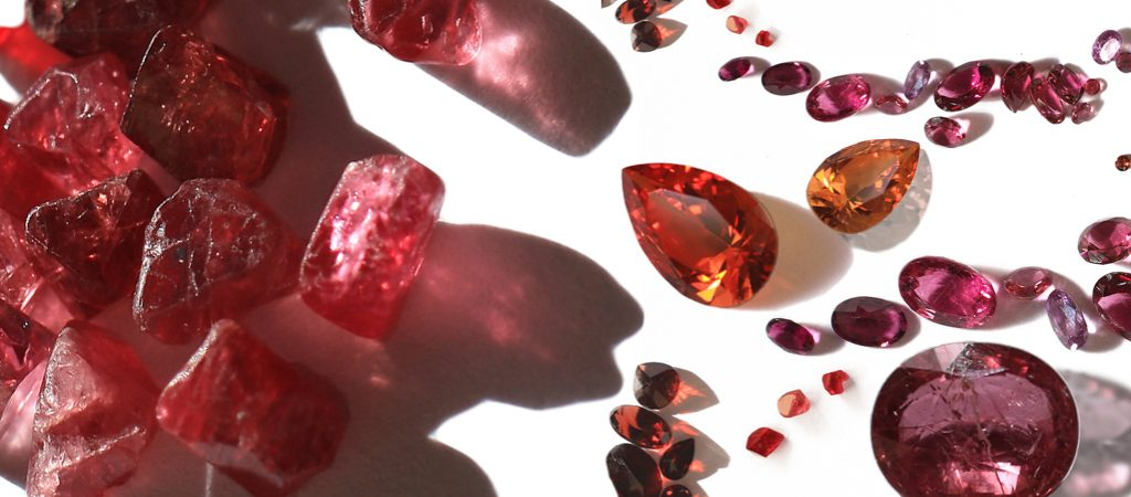 Plush pinks and Radiant Reds (PR2) – gemmology and stone setting