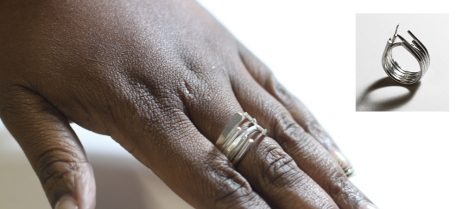 3 ways to make a silver ring