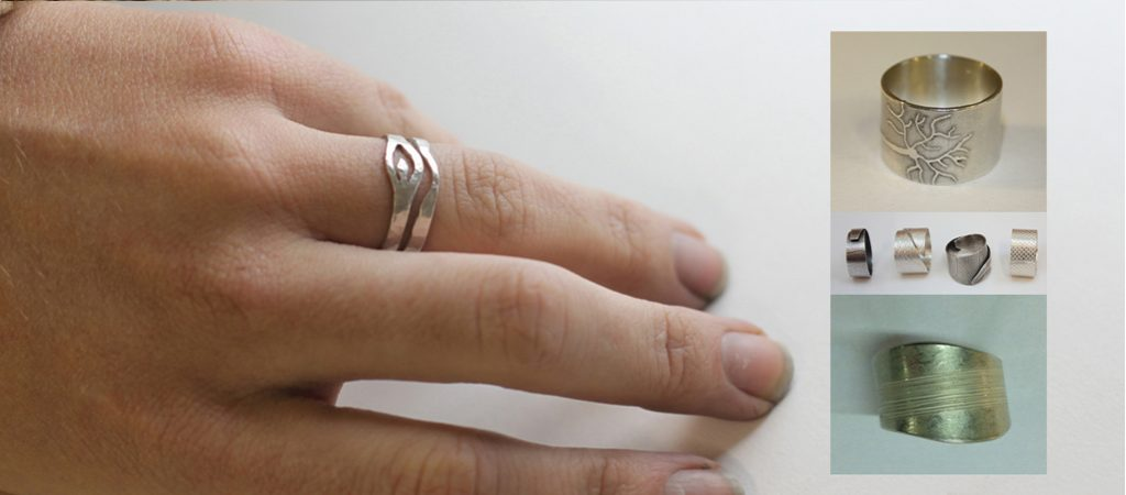 Design and make a silver ring (SW14)