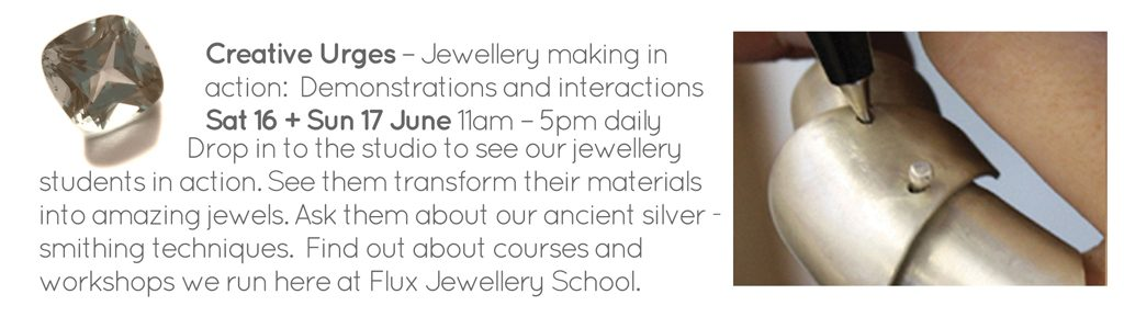 Creative Urges - jewellery demonstrations