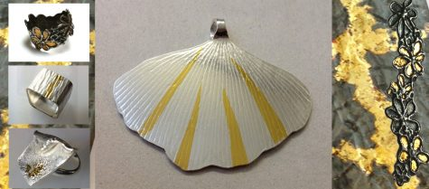 Learn the art of keum boo for surface decoration on silver jewellery